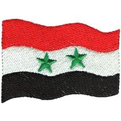 Egypt Flag embroidery design