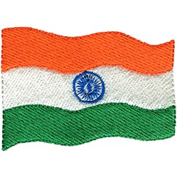 India Flag embroidery design