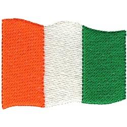 Ivory Coast Flag embroidery design