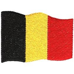 Belgium Flag embroidery design