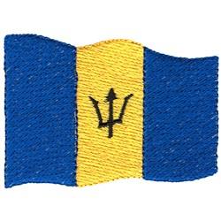 Barbados Flag embroidery design