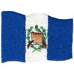 Guatemala Flag embroidery design
