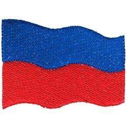 Haiti Flag embroidery design