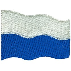 San Marino Flag embroidery design