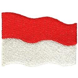 Monaco Flag embroidery design