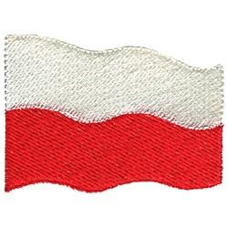 Poland Flag embroidery design