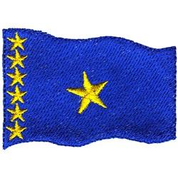 Congo Democratic Republic embroidery design