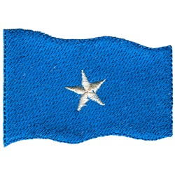 Somalia Flag embroidery design