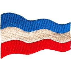 Yugoslavia Flag embroidery design