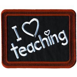 Applique Blackboard embroidery design