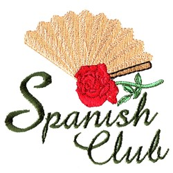 Spanish Culb embroidery design