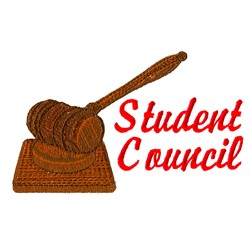 Student Council embroidery design