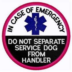 Emergency Patch embroidery design