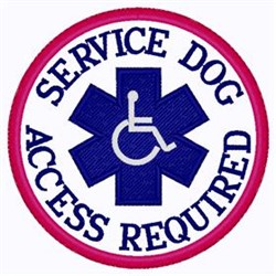Access Required Patch embroidery design
