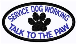Paw Patch embroidery design