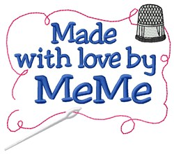 Made By MeMe embroidery design