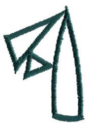 Siamese 4 embroidery design
