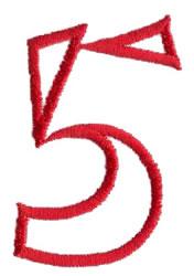 Siamese 5 embroidery design