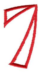Siamese 7 embroidery design