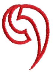 Siamese 9 embroidery design