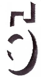 Silhouette 5 embroidery design