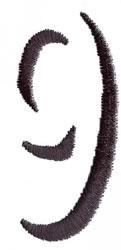 Silhouette 9 embroidery design