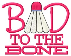 To the Bone embroidery design