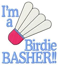 Birdie Basher embroidery design