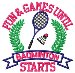 Fun and Games embroidery design