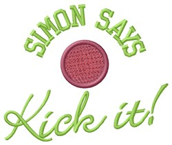 Simon Says embroidery design