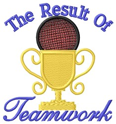 Kickball Teamwork embroidery design