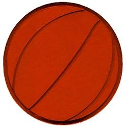 Applique Basketball embroidery design