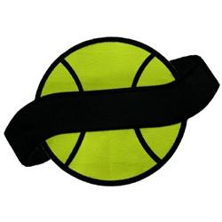 Applique Tennis Ball embroidery design