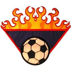 Applique Soccer Ball embroidery design