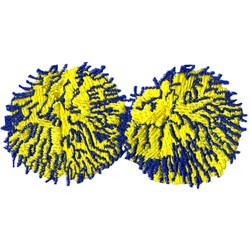Pom Poms embroidery design