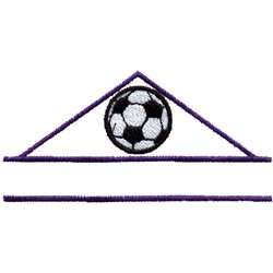 Soccer Name Drop embroidery design