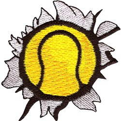 Tennis RIP embroidery design