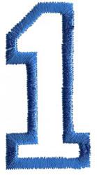 Sport 1 embroidery design