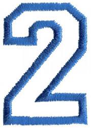Sport 2 embroidery design