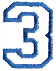 Sport 3 embroidery design