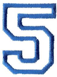 Sport 5 embroidery design