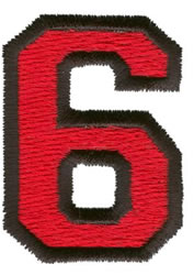 Sport 6 embroidery design