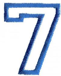 Sport 7 embroidery design