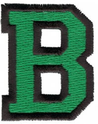 Sport B embroidery design
