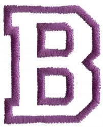 Sport B embroidery design