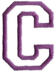 Sport C embroidery design