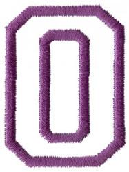 Sport O embroidery design