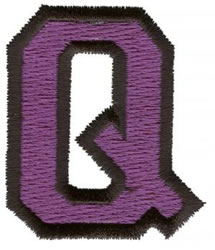 Sport Q embroidery design
