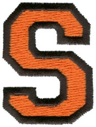 Sport S embroidery design