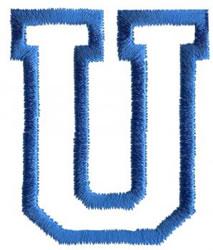 Sport U embroidery design